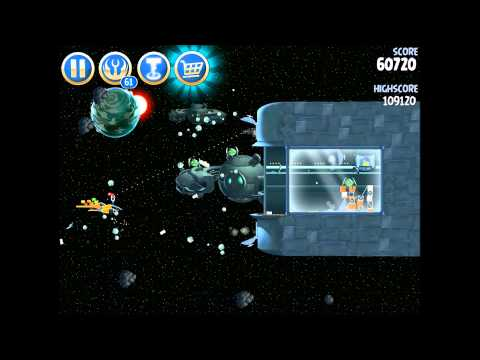 Angry Birds Star Wars 2 B3-20 Battle of Naboo 3 Star