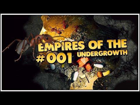 Empires of the Undergrowth | Ameisen in Games sind Liebe 👑 #001 [Let's Play][Gameplay][Deutsch]
