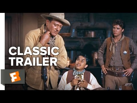 Rio Bravo (1959) Official Trailer - Johh Wayne, Dean Martin Western Movie HD
