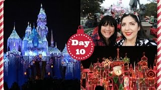 Vlogmas 2016 ❄ Day 10 | Christmas Time @ Disneyland!