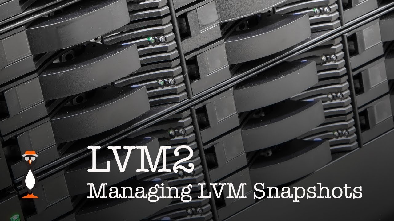 Managing LVM Snapshots in LVM2 - The Urban Penguin