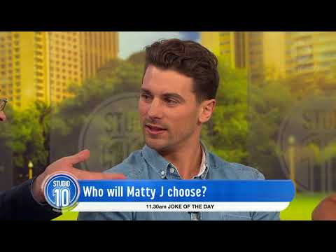 Who Will Matty J Choose? | Studio 10