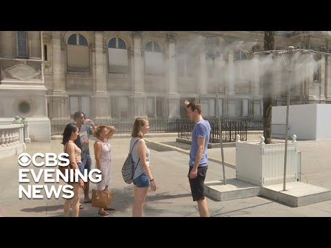 Paris hits 109 degrees in record-breaking heat wave