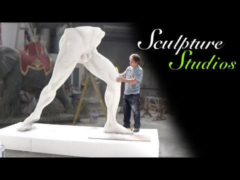 Classical Polystyrene / Styrofoam Statue Carving by Sculpture Studios