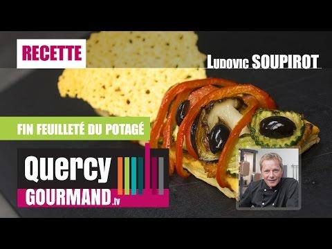 Recette : Fin feuilleté du potagé – quercygourmand.tv