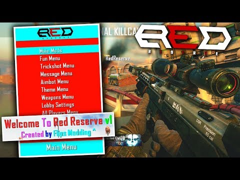 Official RED RESERVE MOD MENU ON BO2! (omg)