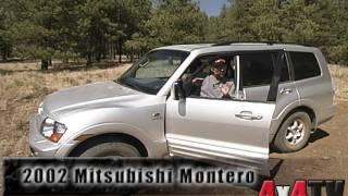 4x4TV Test - 2002 Mitsubishi Montero #1