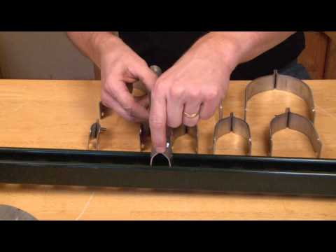 "1-1/4"" Two Piece Rigid Conduit Strut Clamp: STR125"