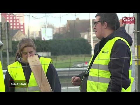 Les annonces sociales d'Emmanuel Macron - Sénat 360 (11/12/2018)