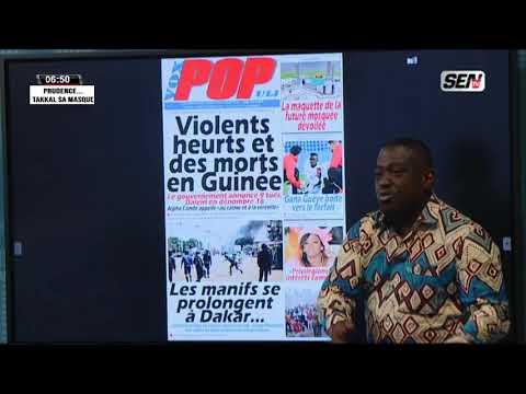 La revue des titres avec Fabrice Nguema du jeudi 22 Octobre 2020