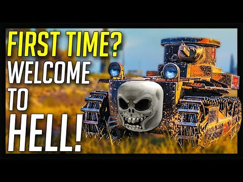 ► First Time Playing? Welcome To Hell! ? - World of Tanks Gameplay thumbnail