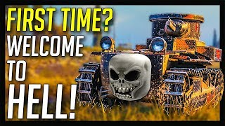 ► First Time Playing? Welcome To Hell! 🔥 - World of Tanks Gameplay