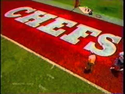 Image result for chefs painted in end zone