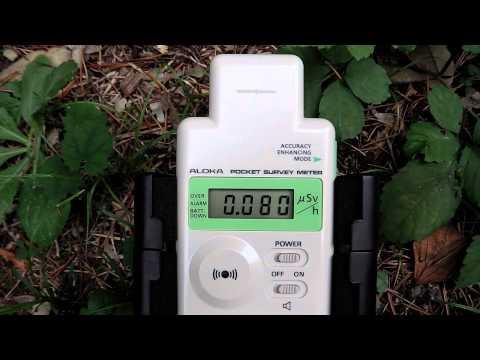 群馬の放射線測定・高崎市群馬の森その3(低線量)