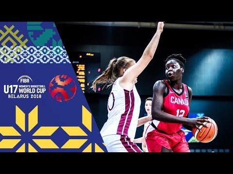 Latvia v Canada - Full Game - FIBA U17 Women's Basketball World Cup 2018
