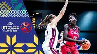 Latvia v Canada - Full Game - FIBA U17 Women's Basketball World Cup 2018 thumbnail