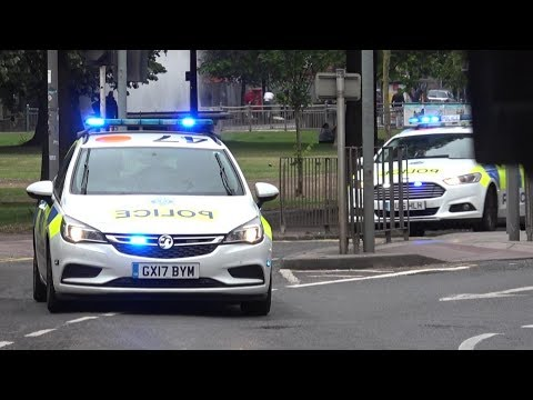 MASSIVE Police Response! - x9 Sussex Police cars responding URGENTLY!