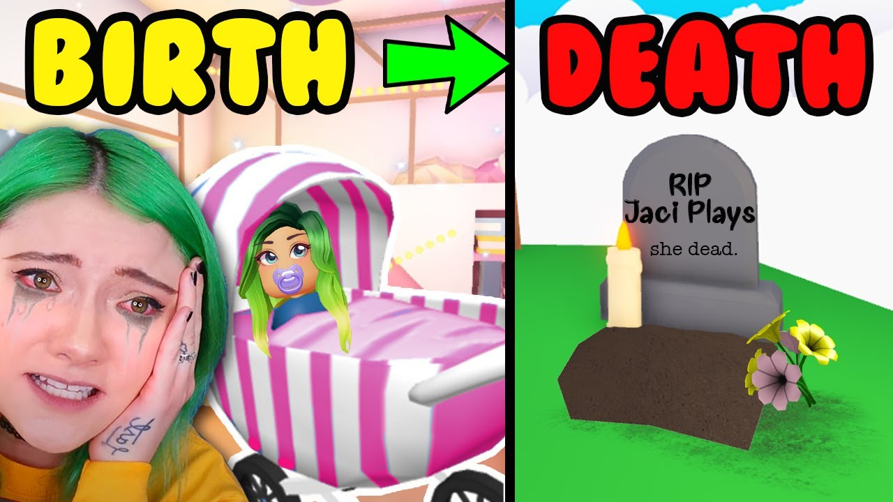 Download *BIRTH TO DEATH* in Adopt Me Roblox...PRANK on MOM *GONE WRONG* | Birth to Death Dream Pet Challenge