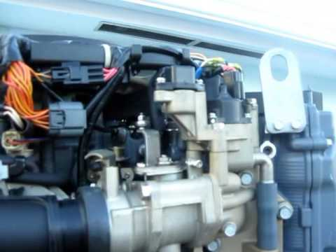 Yamaha 225 HP Outboard Engine Inspection - Marine Surveyor West Palm Beach