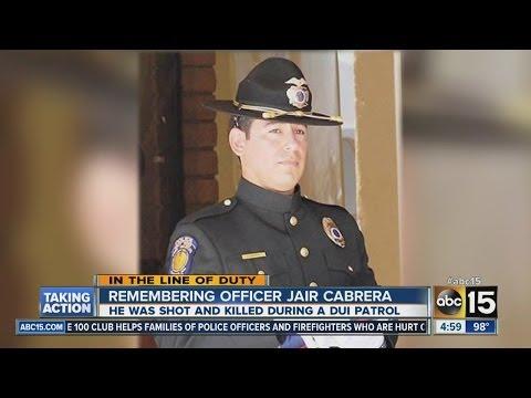 Remembering Officer Jair Cabrera
