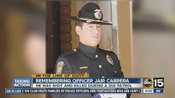 Remembering Officer Jair Cabrera