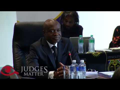JSC interview of Judge T M Makgoka for the Supreme Court of Appeal (Judges Matter)