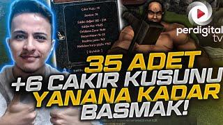 35 adet +6 Çakır Kuşuna Yanana Kadar + Basmak - Metin2 TR #164