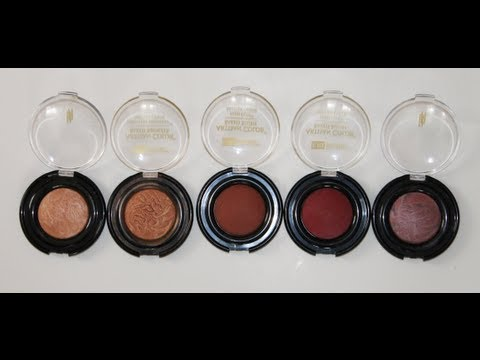 Swatches | Black Radiance Baked Bronzers & Blushes.