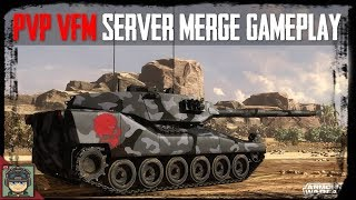 Armored Warfare: PvP VFM + Servers Merged! #armoredwarfare #pvp #update