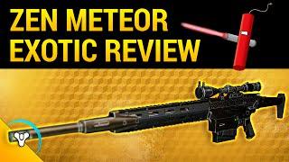 Destiny Taken Spring: Zen Meteor Exotic Review
