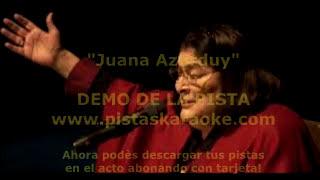 Juana Azurduy DEMO PISTA KARAOKE FOLKLORE