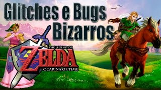The Legend of Zelda: Ocarina of Time - Glitches e Bugs Bizarros