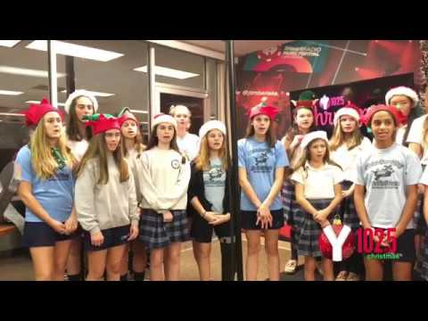 Christ Our King Stella Maris School Performs During Christmas Live