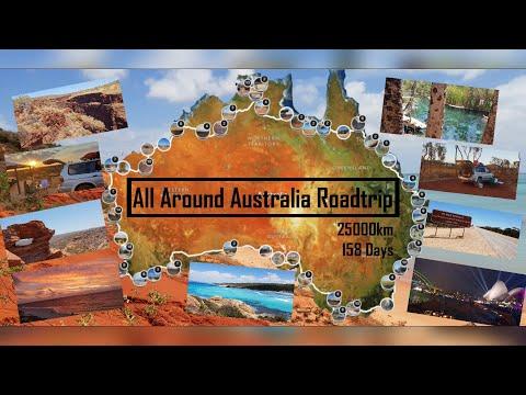 Australia Roadtrip (All Around Australia) | 4K/UHD