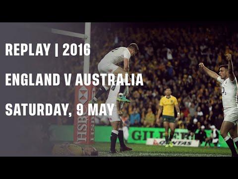 Replay: England V Australia  2016