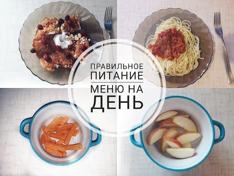 ПП МЕНЮ НА ДЕНЬ 🍏 МОЕ ПИТАНИЕ🍏Дневник правильного питания