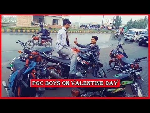 Punjab College Boys on Valentine Day Musically Tik Tok Part 2 | PGC inside