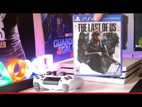 The Last Of Us 2 Unboxing And Gameplay Ps4 Pro