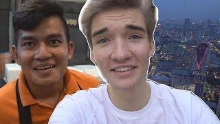 THAILANDER PROBEERT NEDERLANDS & HOOGSTE GEBOUW VAN DE STAD!