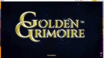 Golden Grimoire  - Big win on mystery symbol reveal during spin - 12 euro a spin