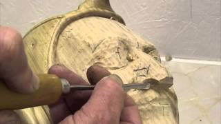 Woodcarving Lessons With Ian Norbury - 05 - Refining The Features