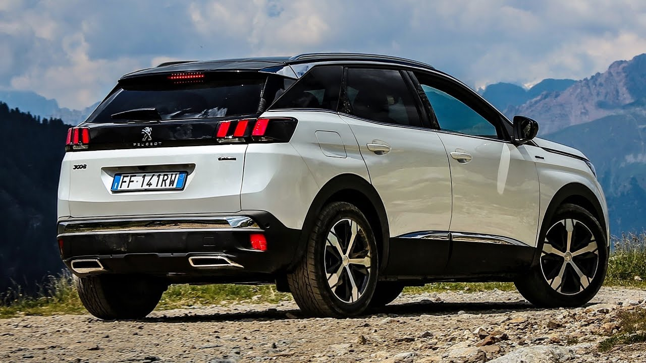 2019 Peugeot 3008 Suv Off Road Driving