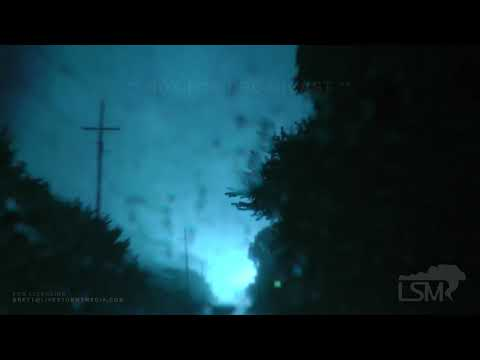 08-26-2019- Edmond /Guthrie, OK - Tornado Crossing Waterloo Road Causing Power Flashes