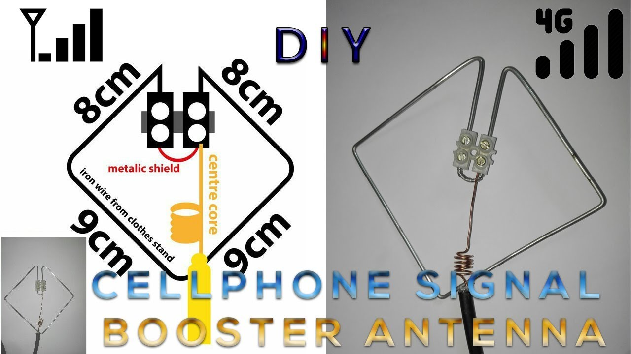 Homemade portable 4g LTE signal booster