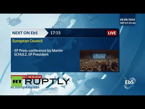 LIVE: European Council to discuss Brexit at emergency sessio