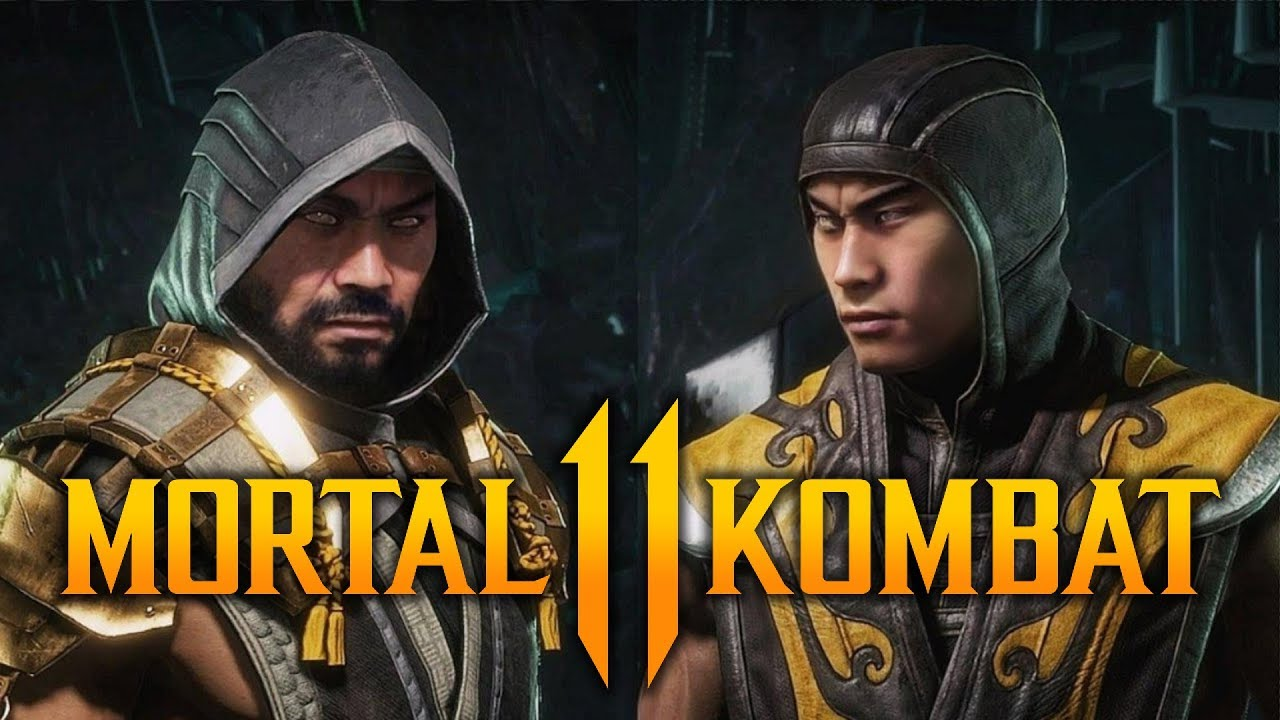 Mortal Kombat 11 Scorpion Maskless Costumes Youtube
