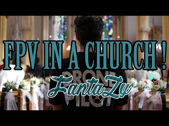 Cinewhoop | Visitez Notre Dame de Peltre !