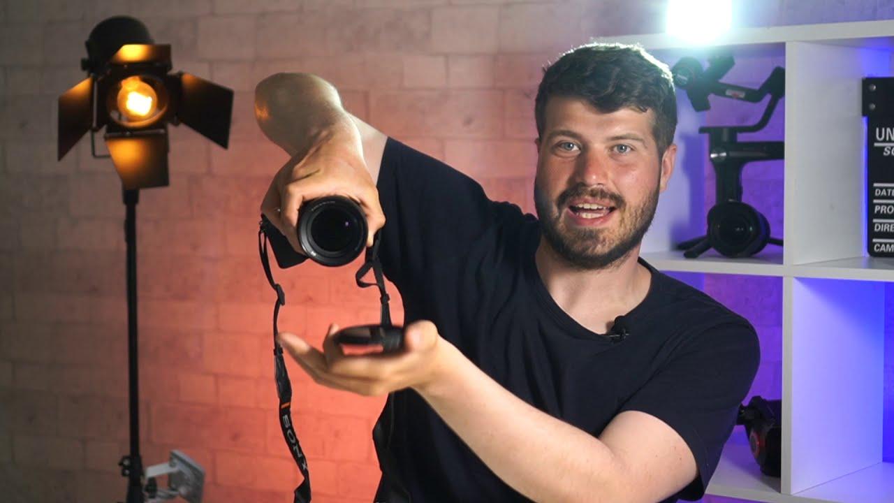 ND ФИЛЬТР-ОЧКИ для ТВОЕЙ КАМЕРЫ!Снимай топ видео при ярком свете! фото