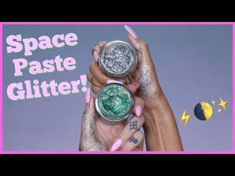Thumbnail: TESTING OUT VIRAL 'SPACE PASTE GLITTER' feat. Laura Lee