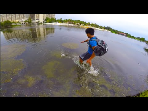 1Rod Chases Down GIANT Florida Bass